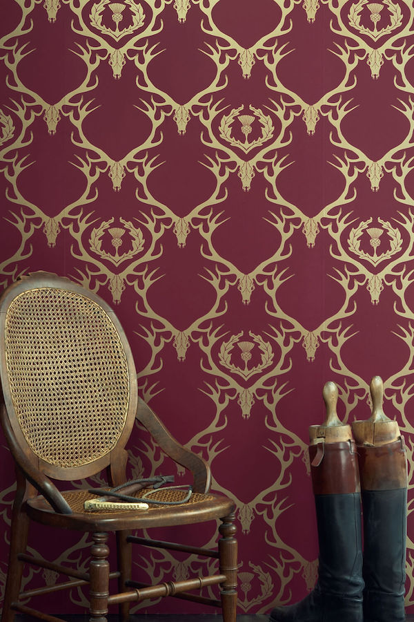 Deer Damask,  Barneby Gates  – £81 per roll