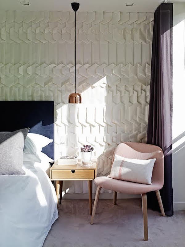 Hand-made folded wallpaper, Tracey Tubb – price available on request