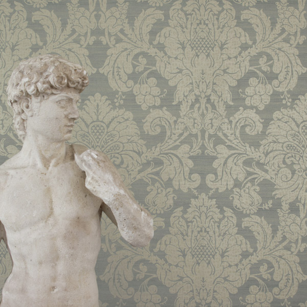 Crivelli, Constantina Damask collection, Zoffany – £88 per roll