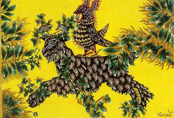 Jean Lurçat's L'Entraide tapestry
