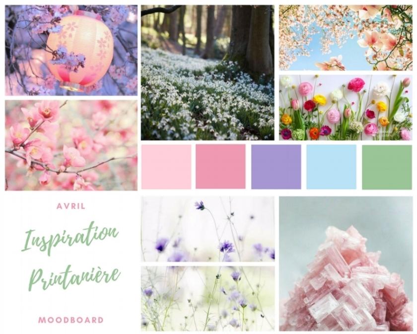 Moodboard printemps spring