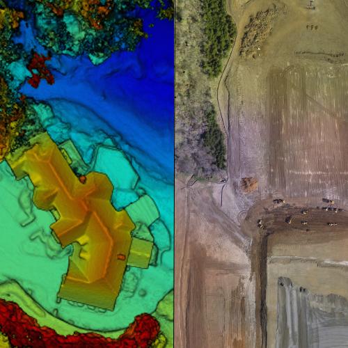 Orthomosaic Mapping & GIS -