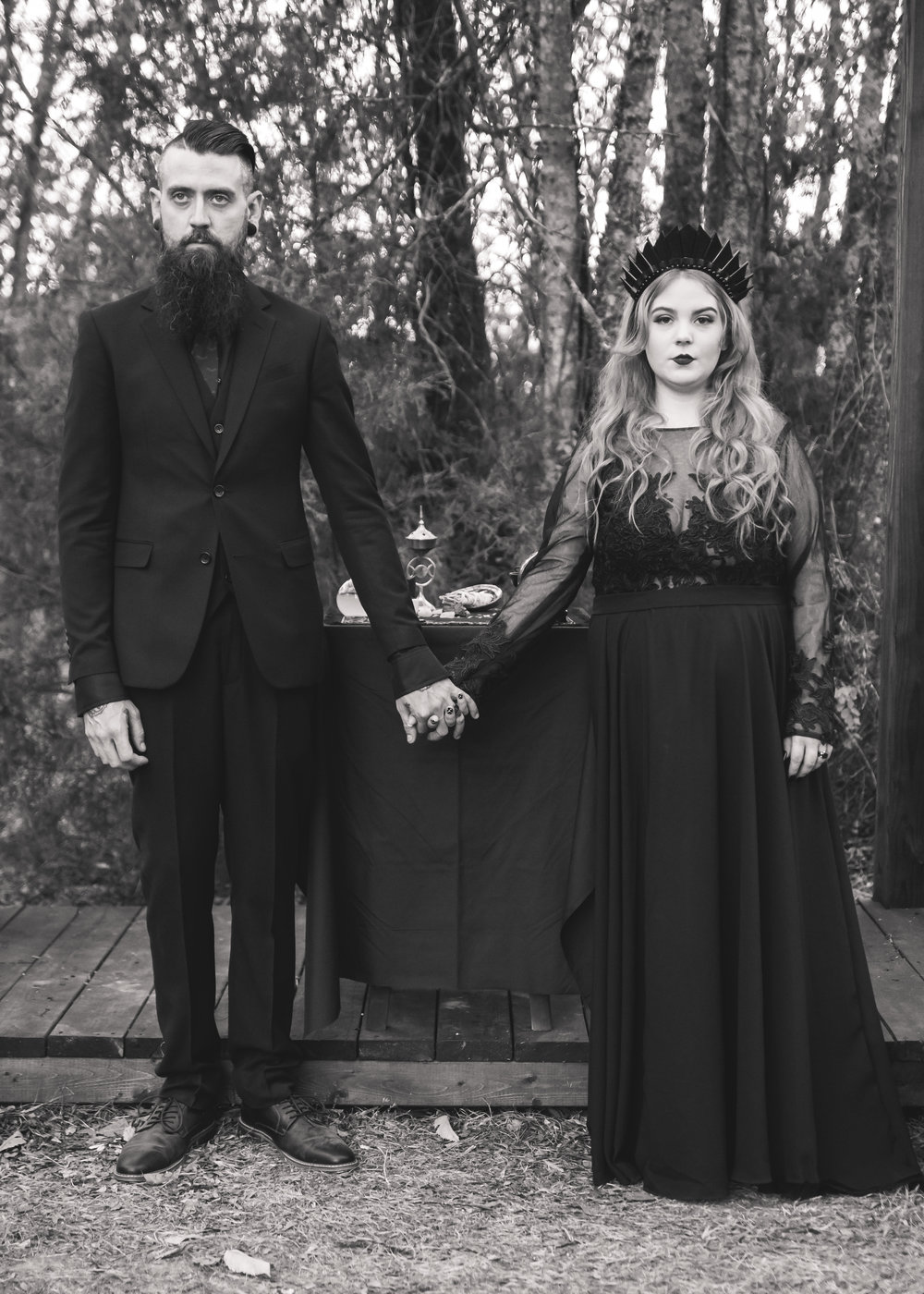 Photos by Kaitlin Styer/ Wedding hashtag  #yourcoffinormine / Bride's Instagram: @ BritneySlimes