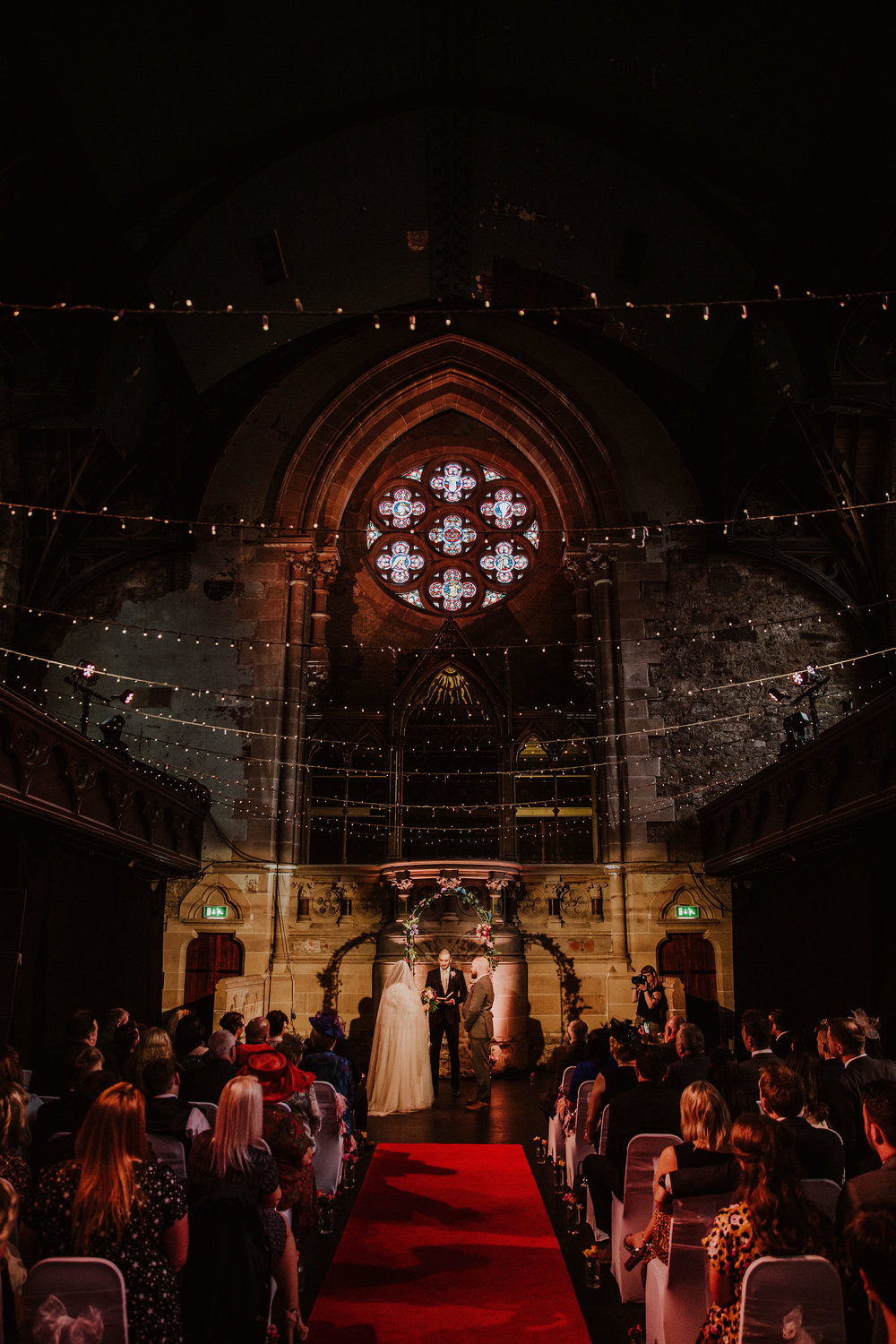 """Jade's fondness for Gothic architecture was perfectly represented in their choice of venue. """"I fell in love the second I saw it!"""" Jade said. -"""