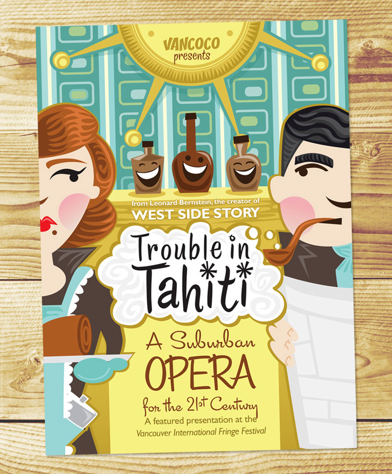 Trouble in Tahiti, Vancouver Concert Opera Society, 2011