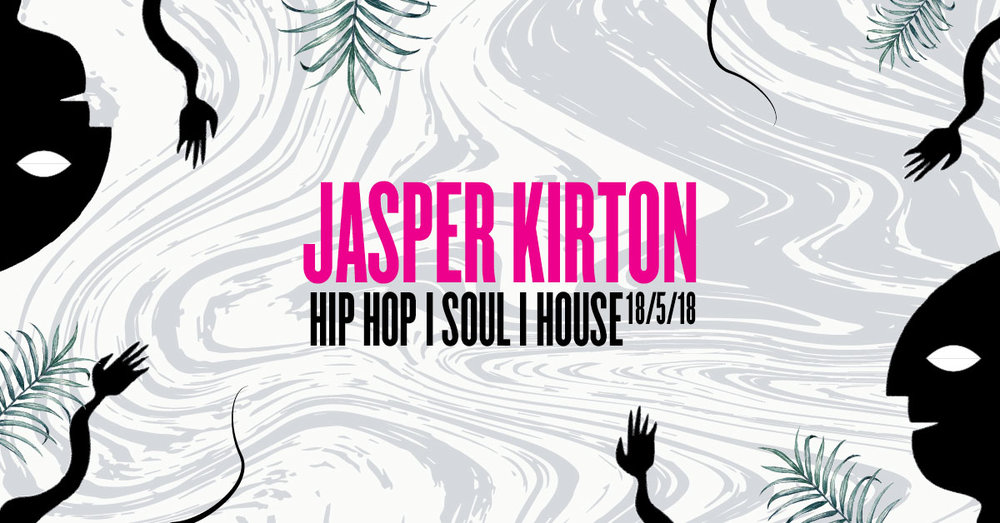 Local DJ legend JASPER KIRTON brings his inner city beats back to his home town.  After making his name in the trendy south east London Jasper will be spinning disks once again in Stroud's own Marshall Rooms.  Invite your friends....  Its gonna get funky.  18+ £5 OTD