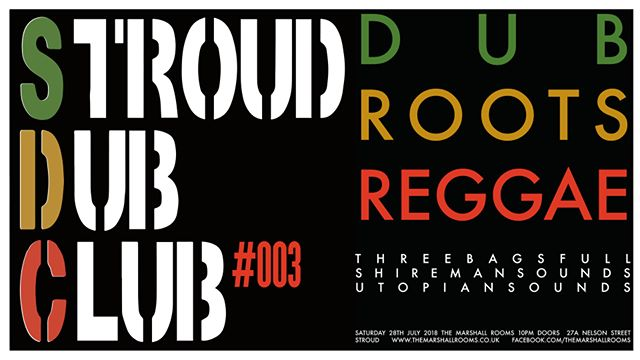 Stroud Dub Club #003 With special guest SPENG BOND.  #themarshallrooms #stroud #roots #reggae #dub #spengbond #nightlife #gloucestershire