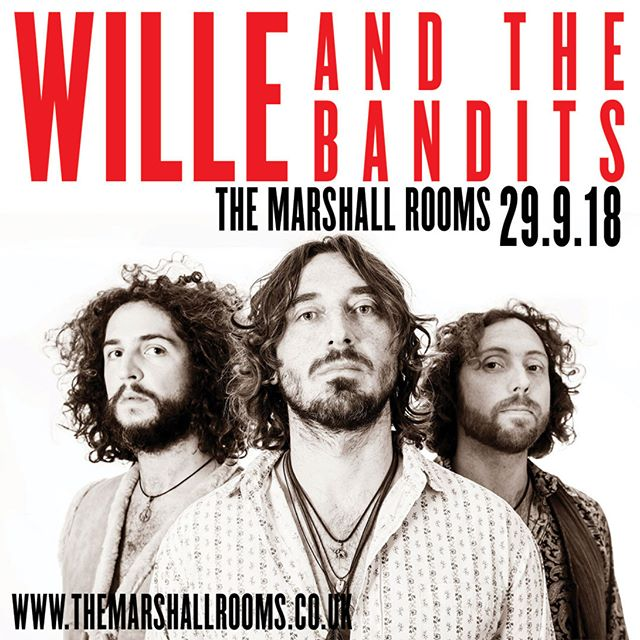 Three piece blue rock and roll band, Wille and the bandits hit The Marshall Rooms on saturday! . . . . #themarshallrooms #willeandthebandits #stroud #livemusic #mvt #bluesrock