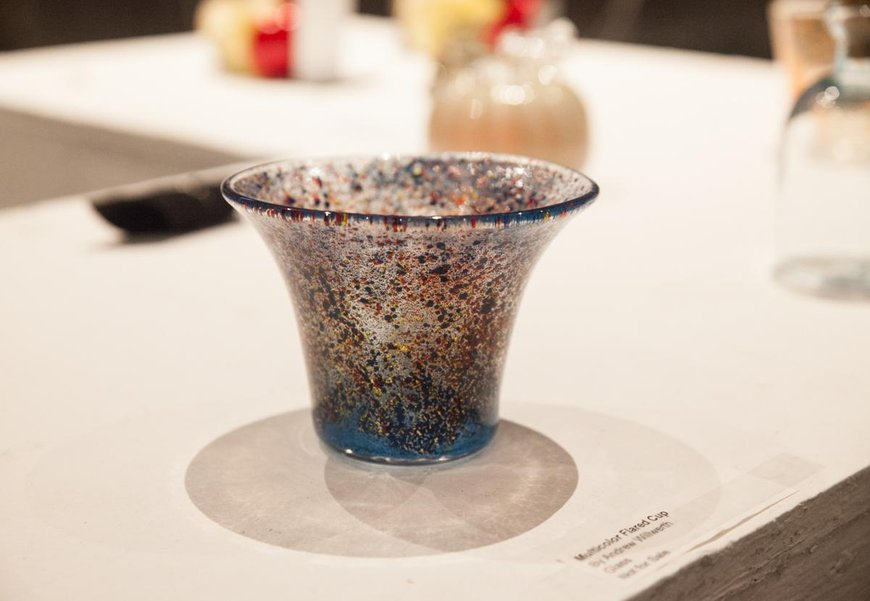 Glass cup by CIT Andrew W.