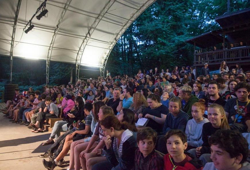 The Summer Theater, our outdoor amphitheater.