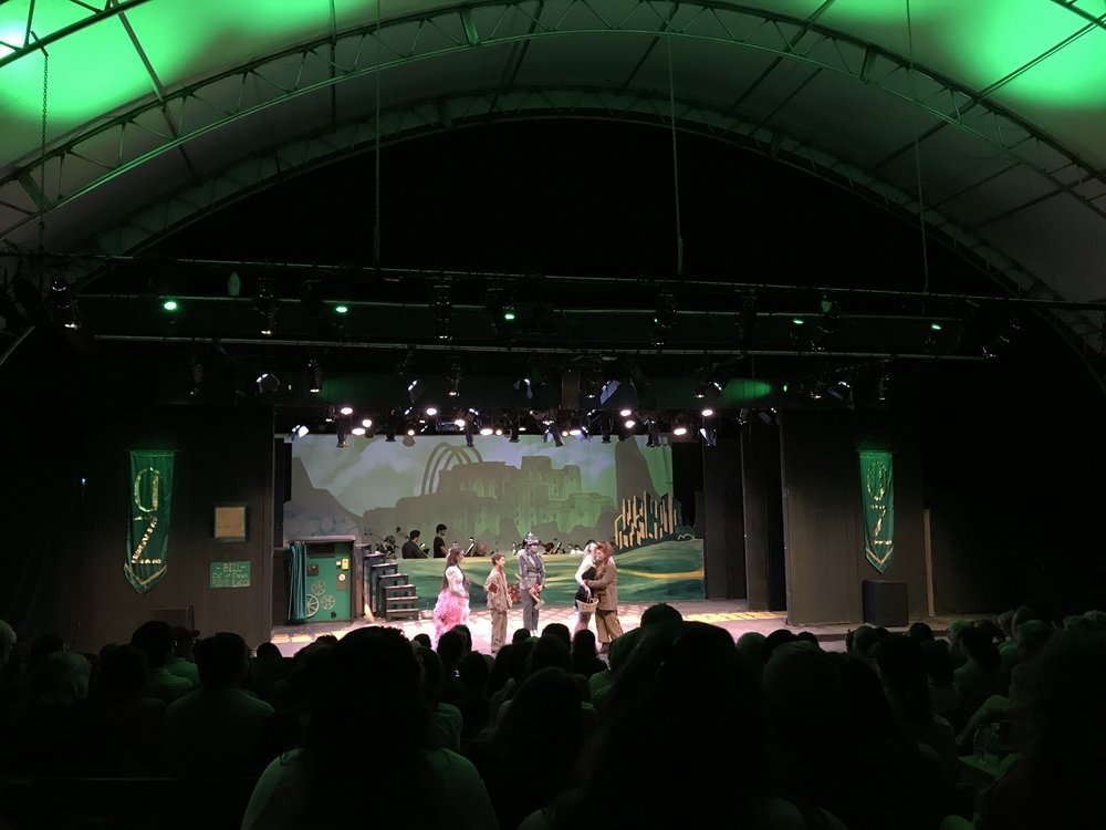 Many of our performances are held in the Summer Theater.