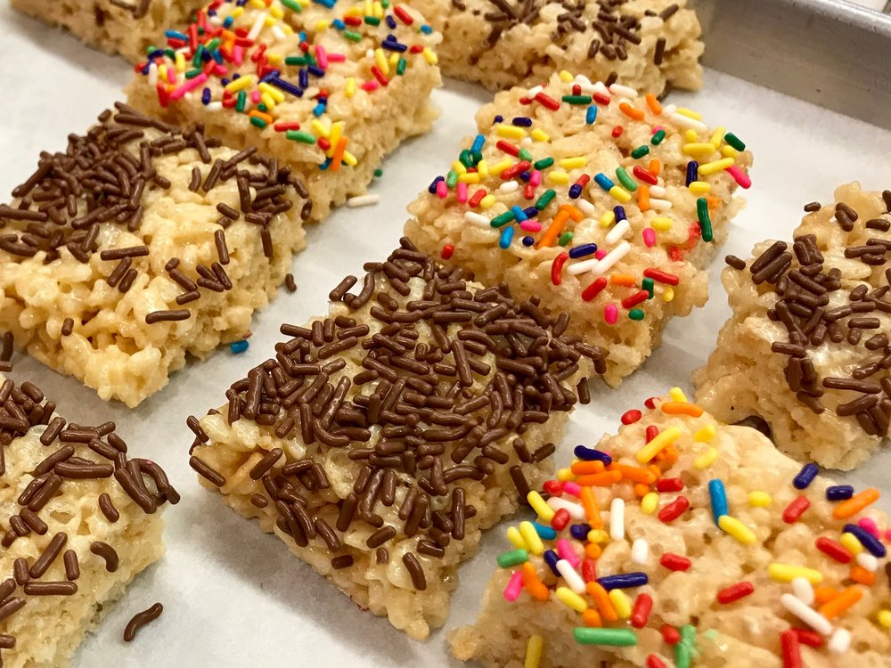Gotta have rice krispies treats!