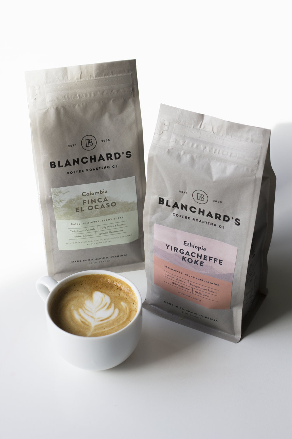 COFFEE + TEA - Proudly serving Blanchard's Coffee and Passenger Teas