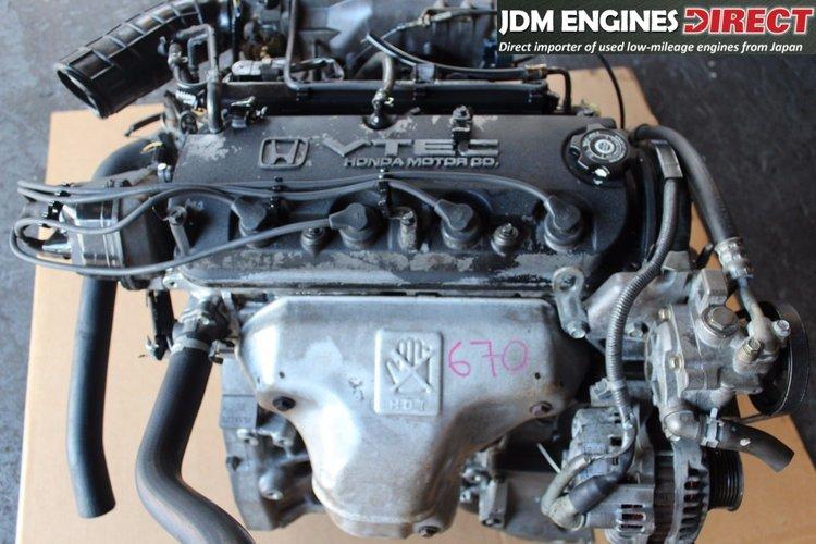 1998 2002 Honda Accord Lx 2 3l 4 Cyl Engine Motor Jdm F23a F23a1