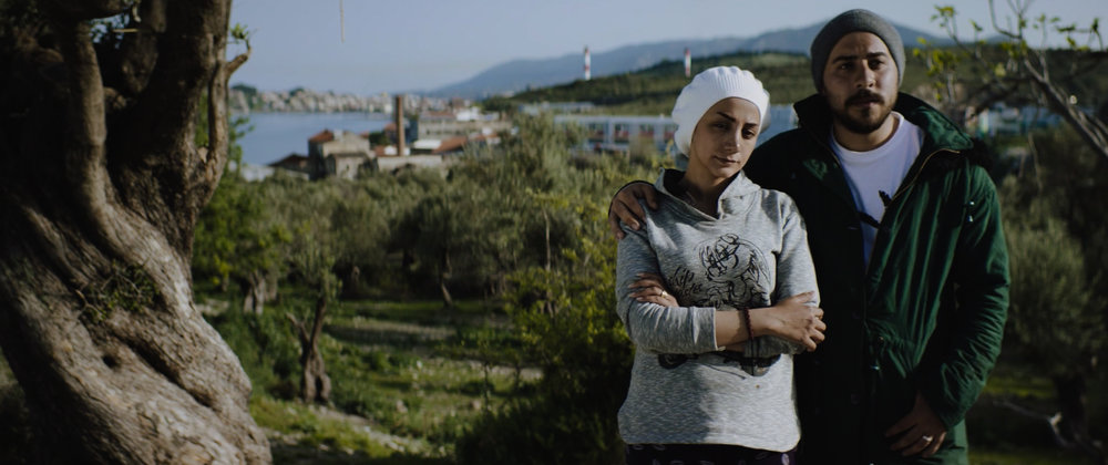 Refugee Husband & Wife Experience on Lesvos Greece Camp Kara Tepe