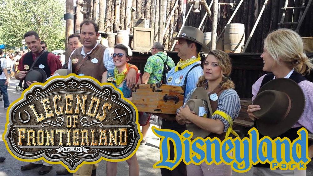DISNEYLAND - Legends of Frontierland
