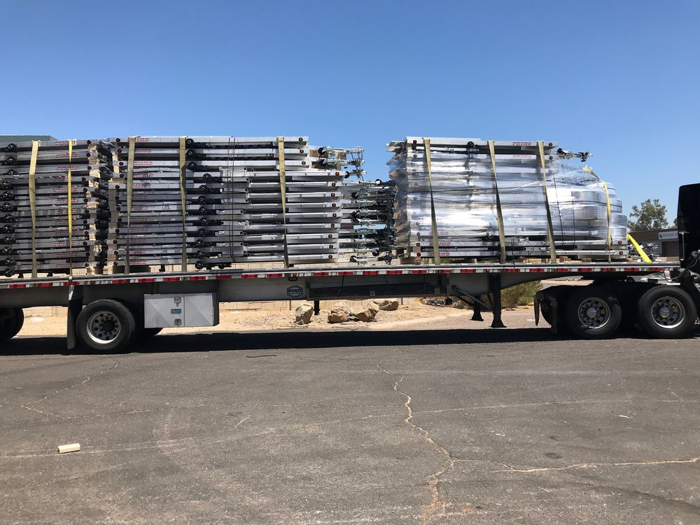How we ship 34 trailers per a load!
