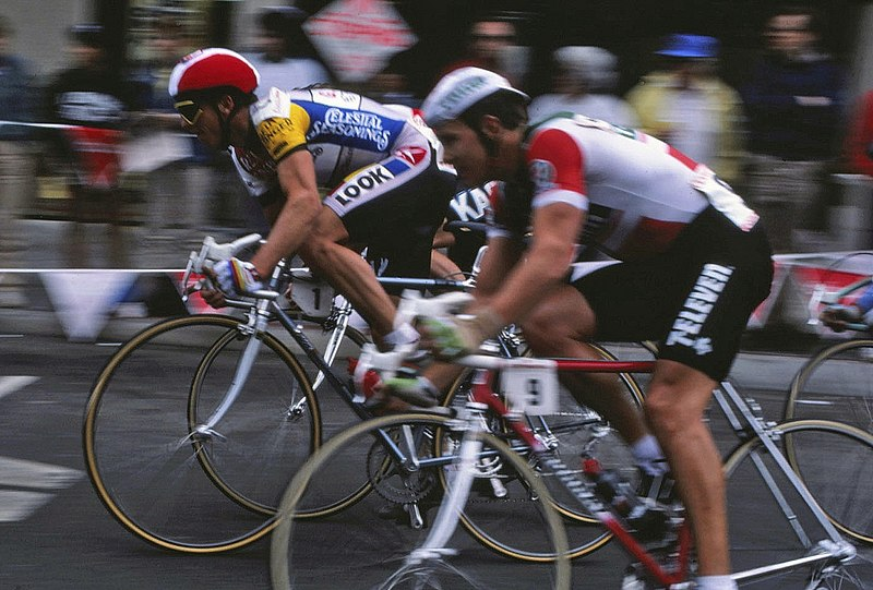 Click here  to watch awesome network coverage of stage 4 of the 1985 Coors International Classic. The first year the tour came to California.
