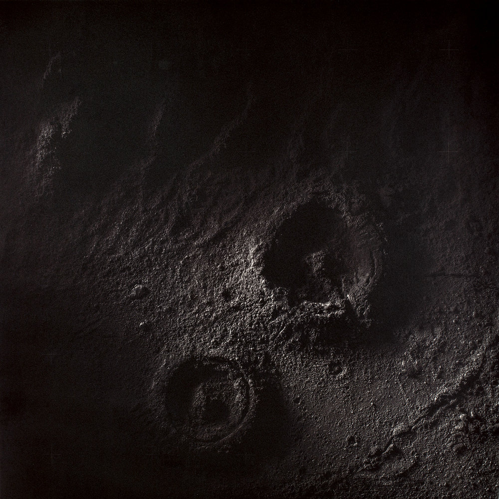 Craters  from the series  The Great Moon Hoax