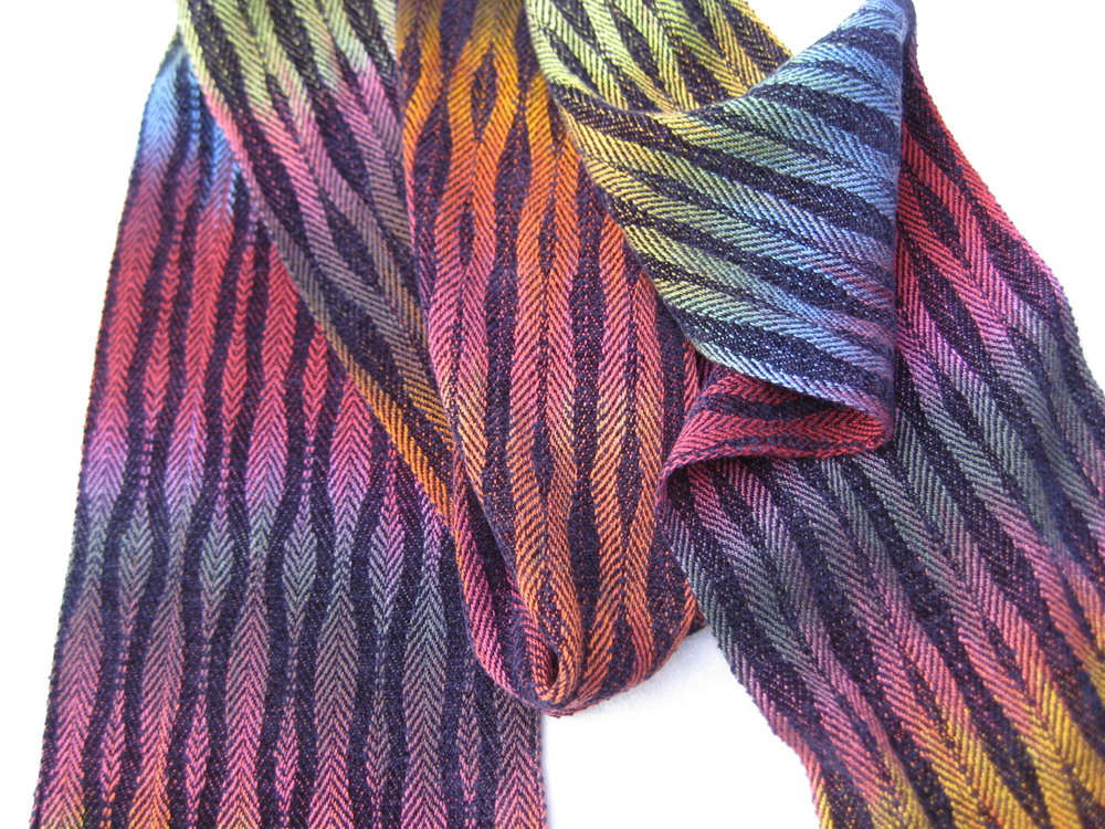"""Meet and Greet""  Handwoven Scarf"
