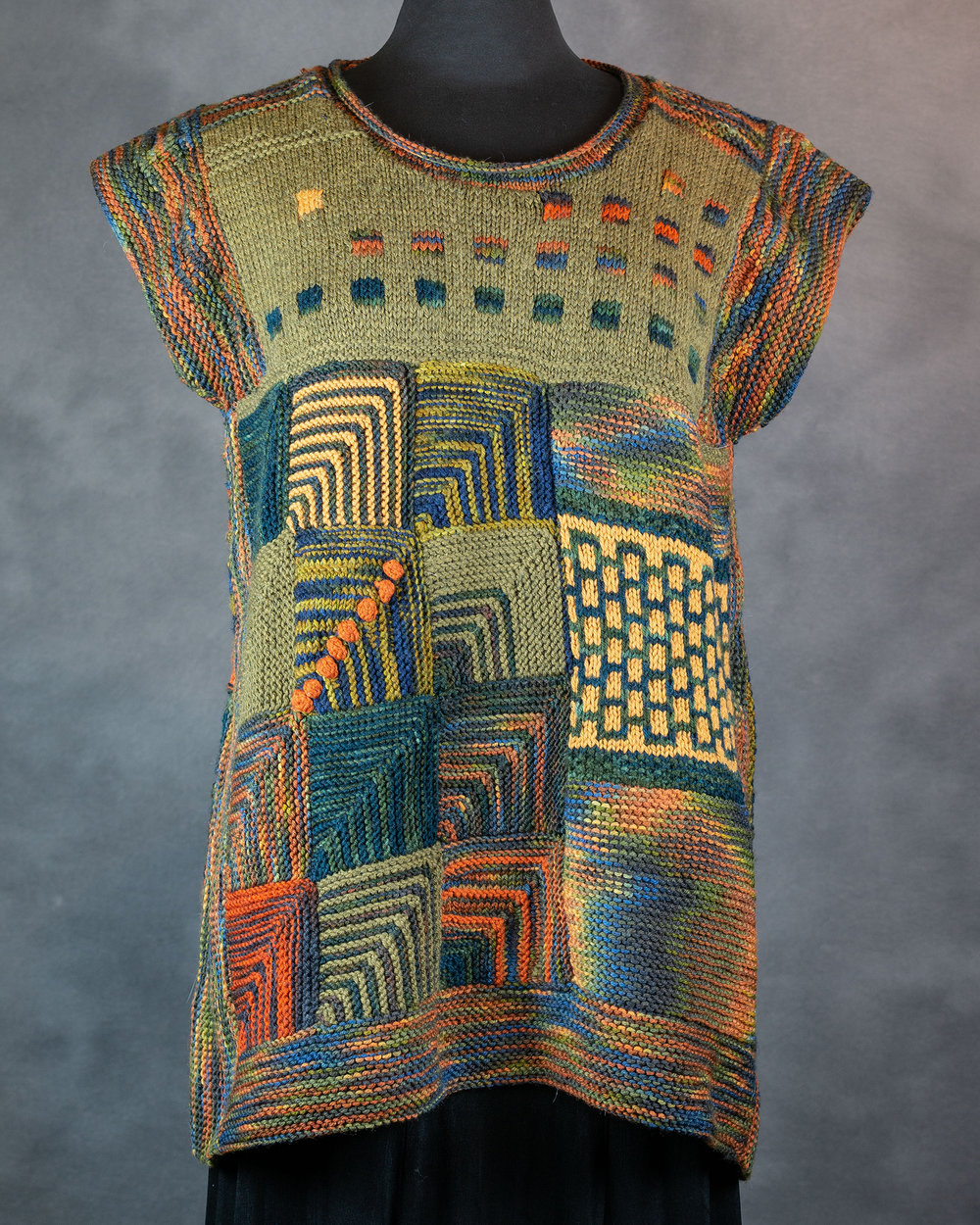 Patchwork Sweater Front
