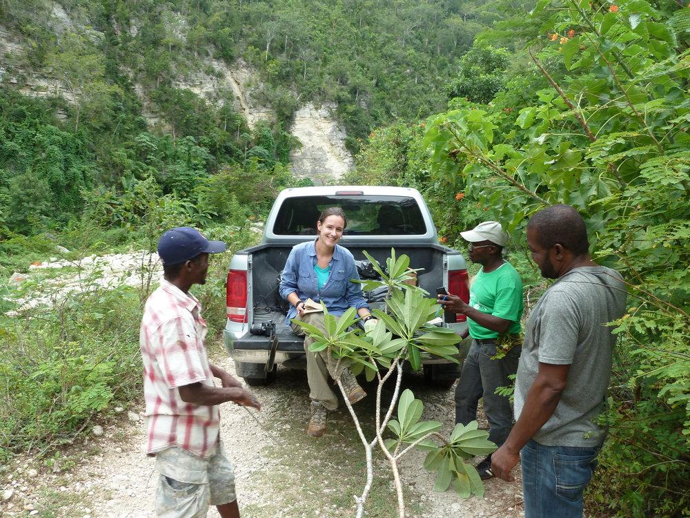 Trouin, Haiti