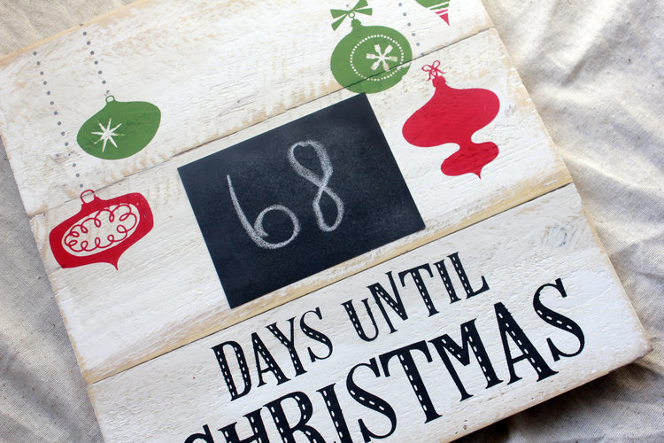 christmas countdown sign days until christmas chalkboard sign chalk sign for xmas countdown holiday countdown wall hanging rustic decor - Christmas Countdown Sign