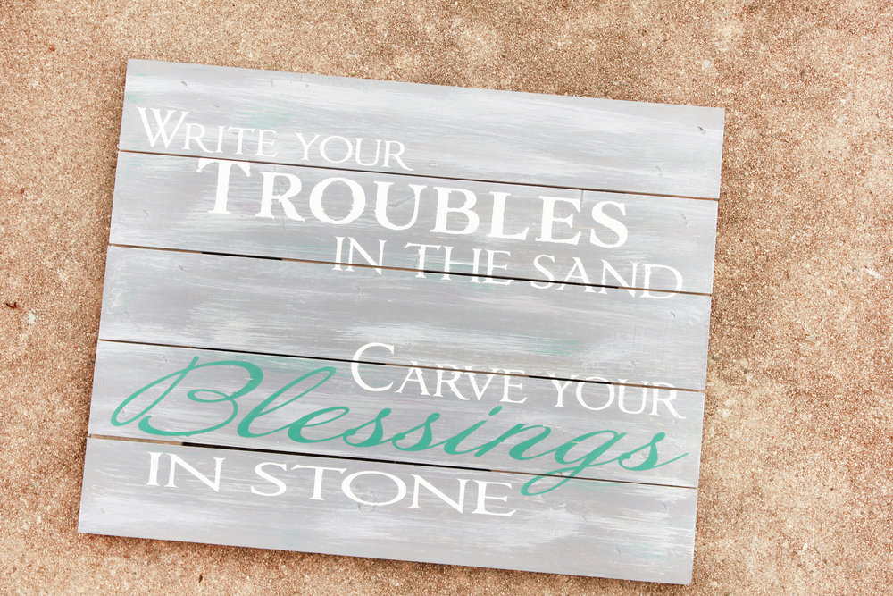 Blessings Rustic Wood Sign, Painted Wood Decor, Farmhouse Style Wall  Hanging, Inspirational Quotes, Religious Wall Art, Blessings Home Decor