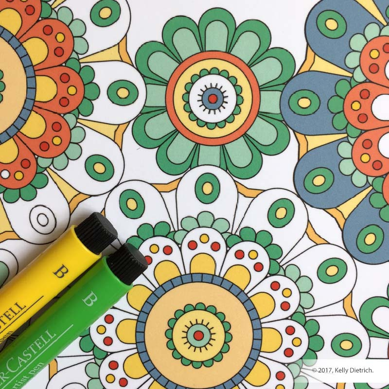 Coloring Patterns Coloring Book