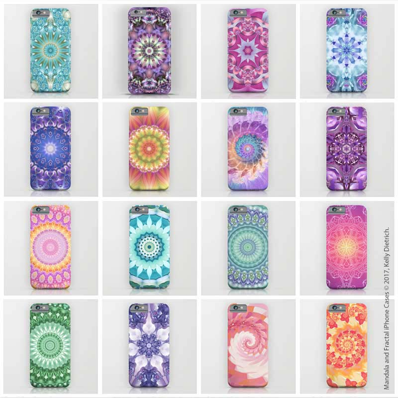 A selection of iPhone cases I've designed. Available in my Society6 shop.