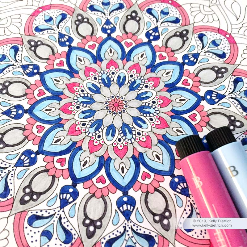 Free Printable Mandala Coloring Pages — Kelly Dietrich ...