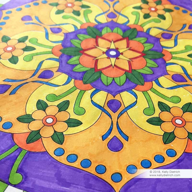 Coloring Mandala Volume 2
