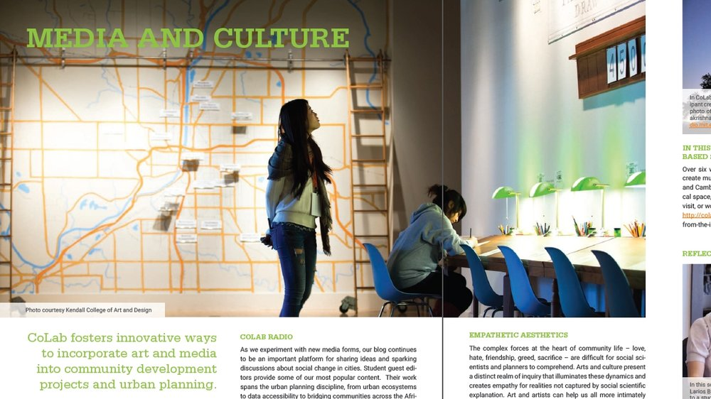 MIT's CoLab 2014 Annual Report