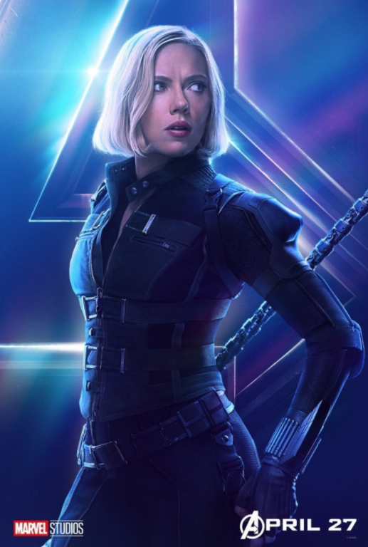 Black Widow - Played by Scarlett Johansson