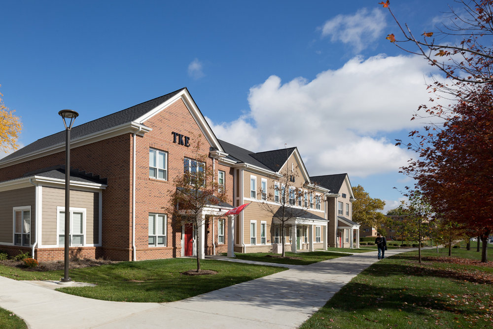 Greek Housing at BGSU