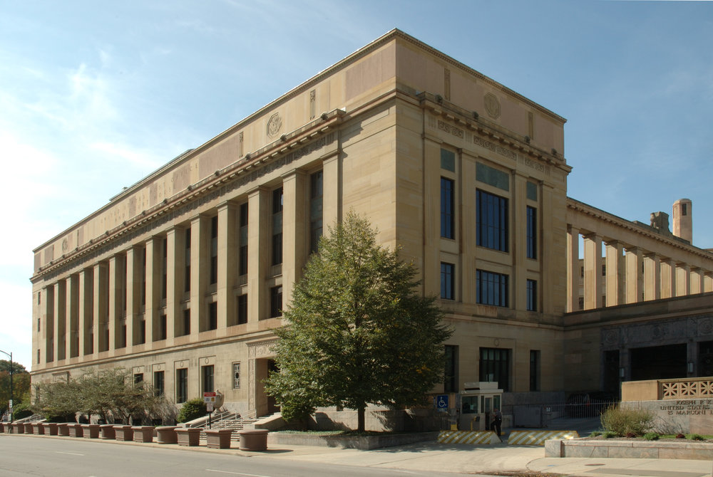 Architect: Kinneary U.S. Courthouse
