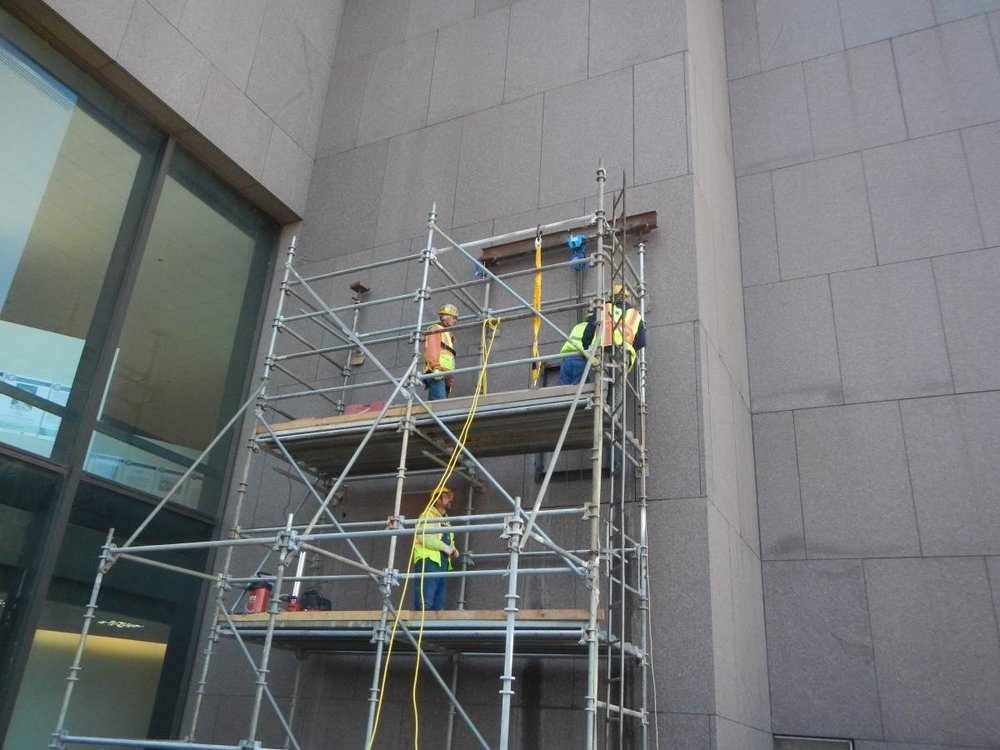 Schooley Caldwell was recently hired to lead an exterior renovation of the entire facade of the Rhodes Tower at 30 East Broad Street in Columbus, Ohio. At 41-stories and 629 feet tall, it is currently the tallest building in Columbus and the fifth tallest in Ohio.
