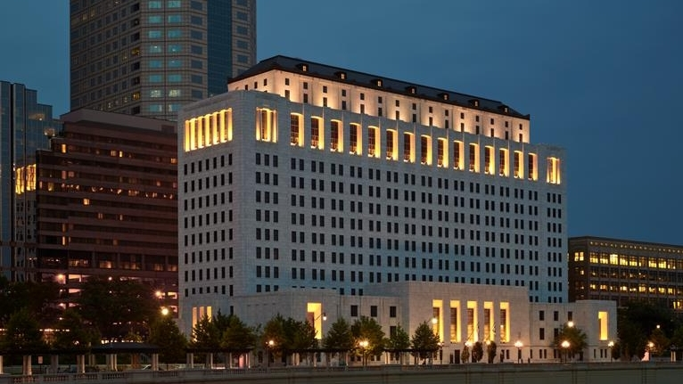 After determining suitability, we converted this state office building into the new home for the Supreme Court of Ohio