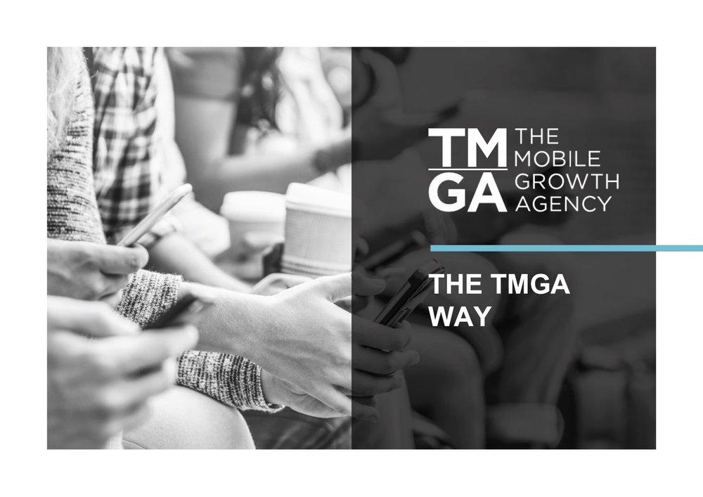 The TMGA Way 2018