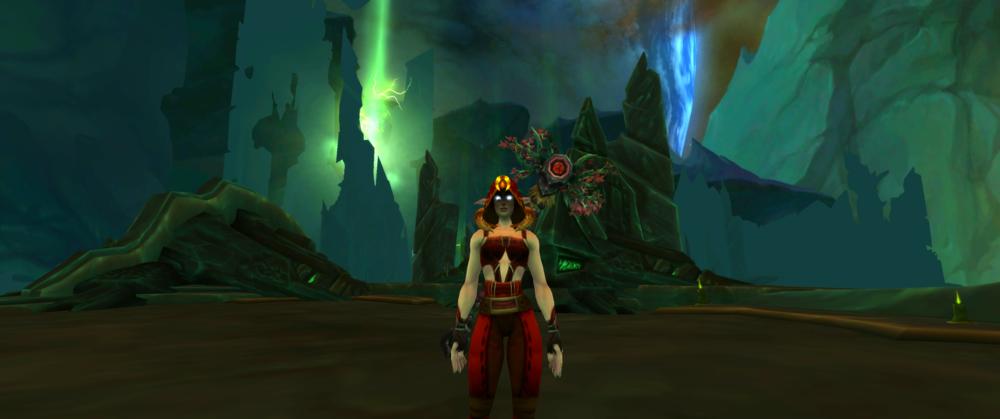 Inside Antorus, The Burning Throne.