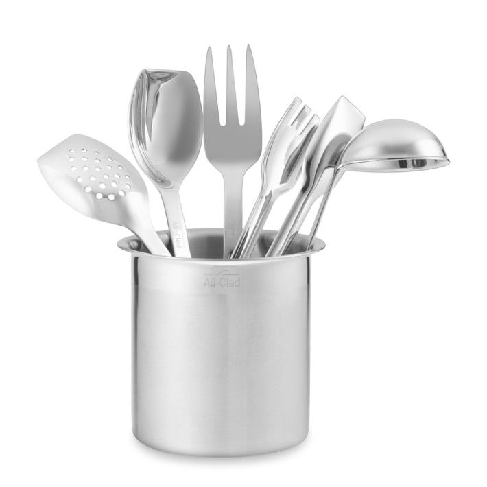 All Clad Cook Serve Stainless Steel Tools Set