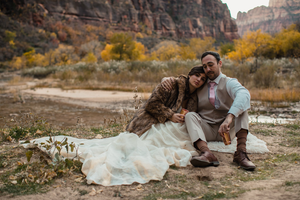 ELOPEMENT: ADIRA & AUGUST -