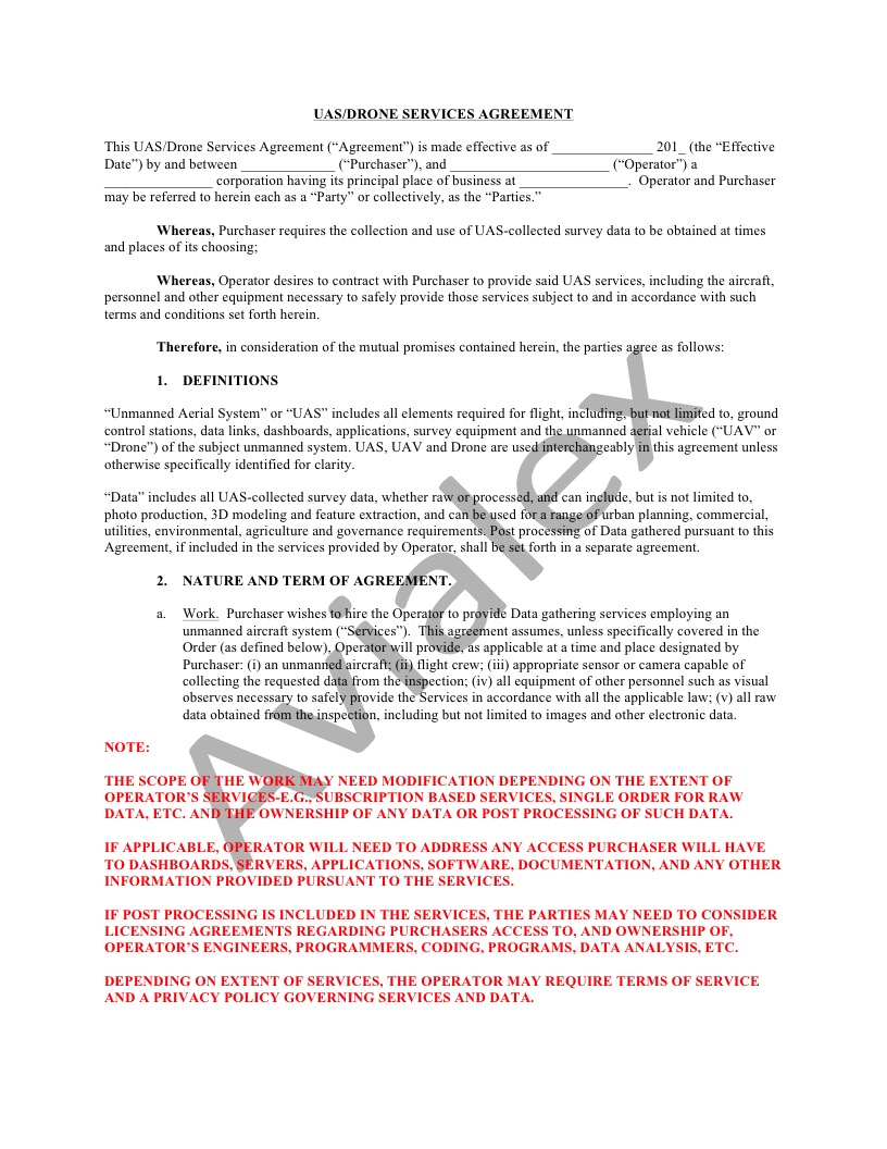notice this agreement template is for educational purposes only and has not been updated since it was originally posted in 2016