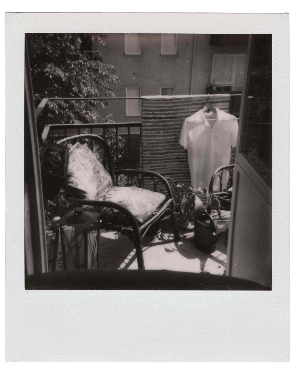 - Prästgårdsgatan, June 1 2018 (Polaroid 600) Thobias Malmberg