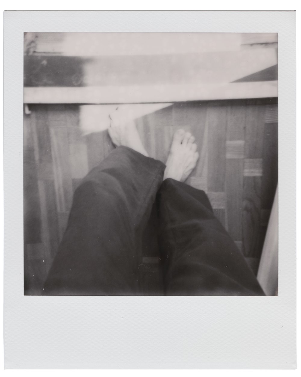 Feet, June 2 2018 (Polaroid 600) Thobias Malmberg