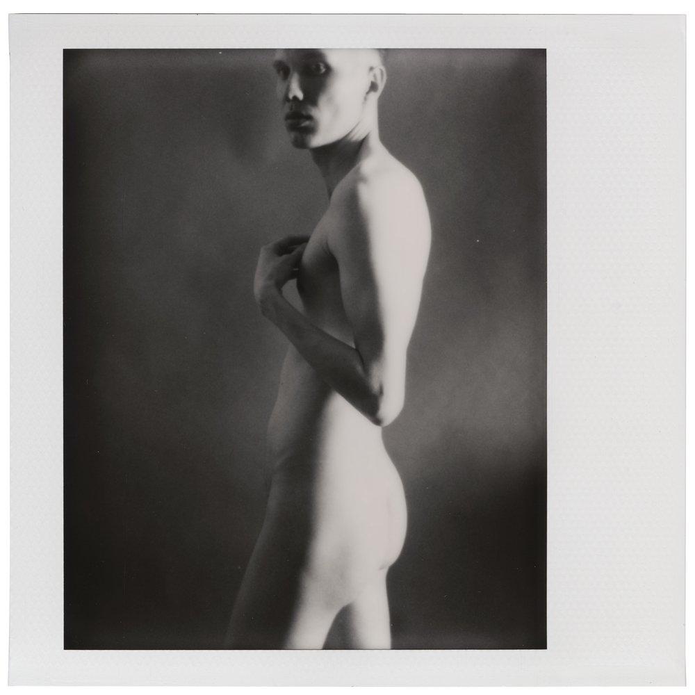 - Self-portrait, June 3 2018 (Polaroid Spectra) Thobias Malmberg