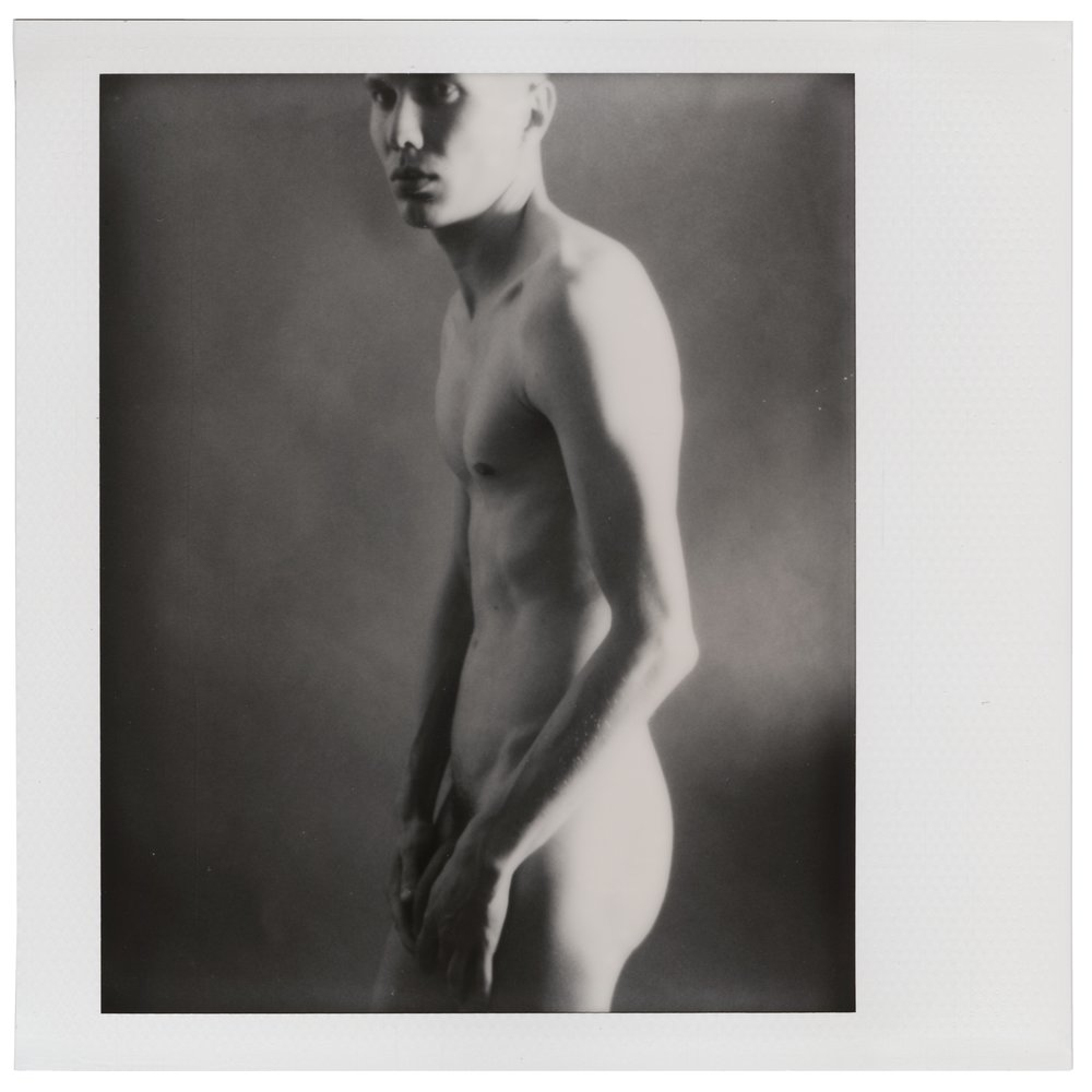 Self-portrait, June 3 2018 (Polaroid Spectra, Polaroid Originals) Thobias Malmberg
