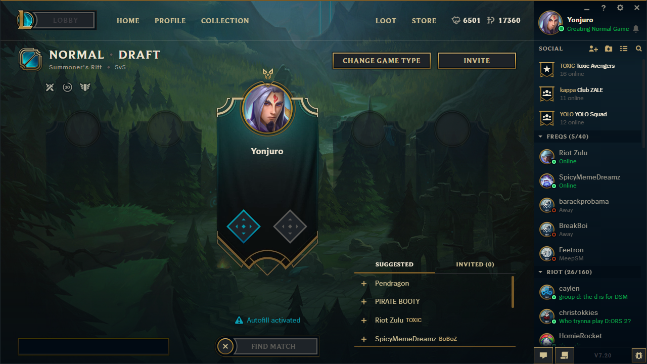 new matchmaking league of legends