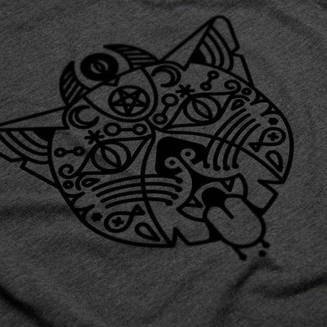 Working on some new apparel designs. #clothingline #clothingbrand #graphics #shirtdesign #cat #dark #cloudfarmers