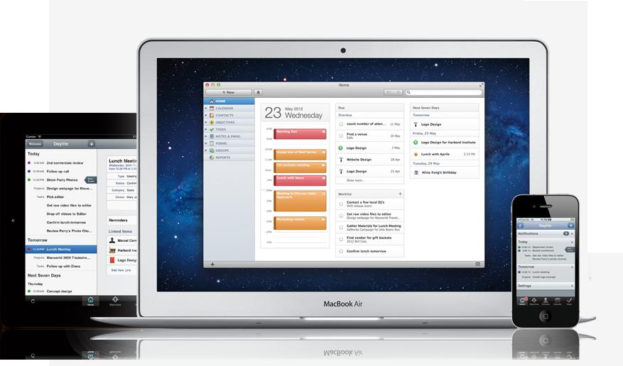 Daylite 4 Mac iPhone and iPad